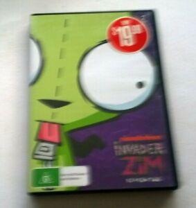 Invader Zim season 2 dvd clean disk Australian release