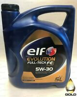 elf EVOLUTION FULL TECH 5W30 Motoröl 1 x 5 Liter