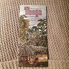 The Kingdom of Tonga, Ancient Polynesia - Visitor Information Pamphlet - 1970s