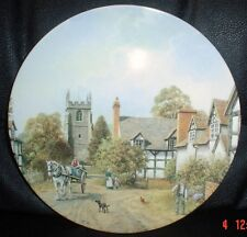 Wedgwood Collectors Plate BISHAMPTON From THE CHARM OF AN ENGLISH VILLAGE