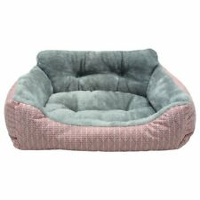 """New listing Vibrant Life Lounger with Bolstered Walls Dog and Cat Bed,Small, Peach,17"""" x 21"""""""