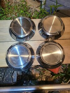 """4- 1987- to 2000 Dodge 10-1/8"""" truck and van dogdish hubcaps"""