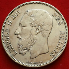 Belgique / Belgium , 5 Francs 1872 , TTB
