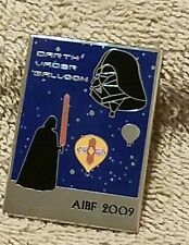 2009 DARTH VADER BALLOON AIBF BALLOON PIN