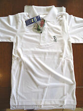 CRICKET SHIRT WHITE SHORT SLEEVE XXL 2XL STAY DRY KOOKABURRA BRAND NEW FREE POST