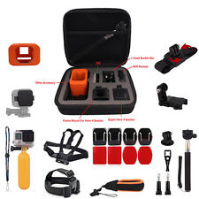 14-IN-1 Chest Head Strap Bag Case Monopod Mount For GoPro Hero 4 5Session Camera