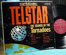 TORNADOES The Original Telstar SOUND OF THE TORNADOES LONDON SURF LP LL3279 VG+