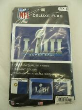 New listing Nfl Super Bowl 53 Liii Deluxe Flag Banner 3 x 5 Football Atlanta Indoor Outdoor