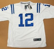 Andrew Luck Indianapolis Colts White Authentic Nike Elite Jersey XXL 2XL New