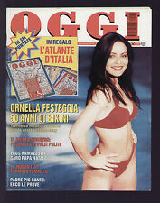 OGGI 22/1996 ASIA ARGENTO ROMINA POWER BEDI SANDOKAN ORNELLA MUTI ALDA MERINI