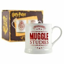 Neuf HARRY POTTER MUGGLE Studies tasse café porcelaine fine Poudlard Officiel