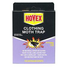 2 × Hovex CLOTHING MOTH TRAPS, Non-Toxic Alternative to Pesticides