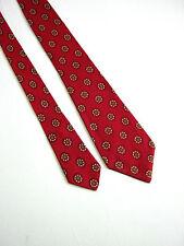 NOVA DOMUS Milano Cravatta Tie VINTAGE 60 Originale SETA SILK