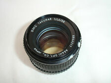 PENTAX SMC Takumar 50mm F 1.4 lens M42 screw mount. SN6944317