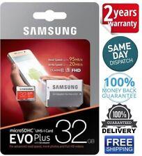 Samsung EVO MB-MC32 DA/AM Plus 32GB Micro SD Card U1 With Adapter Free Shipping