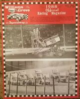 1988 Williams Grove Speedway Program Vol 1 Opening Day Jim Nace