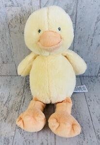 Carters Duck Chick Plush Yellow Orange Baby Toy Stuffed Animal 2015