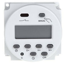 2x(Interruttore Digital Power LCD Timer programmabile AC 220V-240V 16A HK