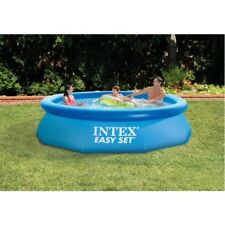 "Intex 10' x 30"" Easy Set Above Ground Swimming Pool With W"