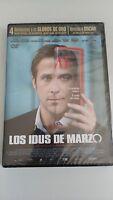 LOS IDUS DE MARZO GEORGE CLOONEY DVD PRECINTADA SEALED NUEVA - AM