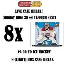 19-20 UD ICE 8 (EIGHT) BOX INNER CASE BREAK #1763 - Montreal Canadiens