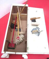 dollhouse antique furniture Brooms Mop dustpan small sweeper Cupboard  Nürnberg