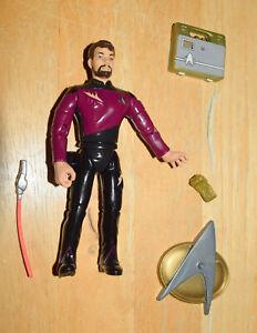Star Trek 1993 Commander Riker The Next Generation Action Figure Playmates