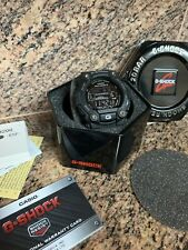 New 2020 Casio Men's GW7900B-1 G-Shock Black Timer Solar Sport Watch Booklet