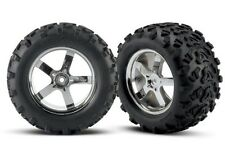 Traxxas Reifen T-Maxx 3.8Zoll auf Felge verklebt #TRX4973R