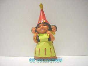 DAVID GNOMO - MOGLIE LISA INDIANA - personaggio in pvc alto 8 cm circa (24).