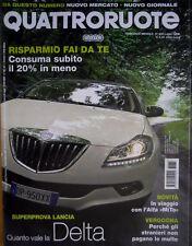 Quattroruote 633 2008 Maserati Granturismo S. In viaggio con Alfa Mito [Q.62]