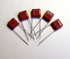 0.047uF 47nF 630V Polyester Radial Capacitor 100 pc Valve Amplifier Radio 0.05uF