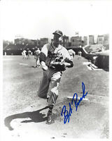 1958 BRAVES Bob Rush signed 8x10 photo AUTO Autographed Milwaukee (D)