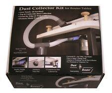 Router Table Dust Collection / Collector System for Fence & Insert Plate by bits
