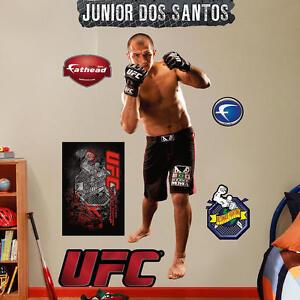 """JUNIOR cigano DOS SANTOS 2'5"""" X 6'4"""" UFC MMA REAL BIG Lifesize FATHEAD + Extras"""