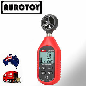 UT363BT Wind Speed Meter Digital Bluetooth Portable Anemometer Thermometer OZ