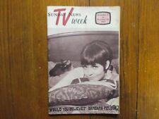 No-1967 Lancaster Pa TV Mag(BARBARA FELDON/WILLIAM SHATNER/STAR TREK/SEMU HUAUTE