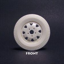 JFW1 Jimmy Flintstone 1/25 scale resin truck tires with wheels