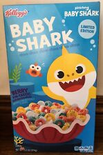 Kellogg's Pinkfong Baby Shark Limited Edition Breakfast Cereal, Berry Fin-Tastic