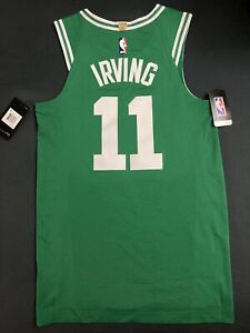 NEW AUTHENTIC NIKE AEROSWIFT BOSTON CELTICS KYRIE IRVING JERSEY MEN'S 40 SMALL