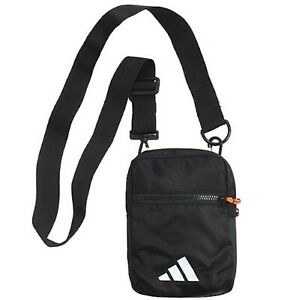 Adidas Park-Hood Organizer Bags Messenger Black Bag Cross Casual GYM Sack FJ1121