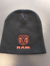Dodge RamTruck Beanie Hat Knit RAM LOGO IN RED--FREE SHIPPING