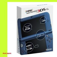 NEW Nintendo 3DS LL XL Metallic Blue Console System Japan 2014