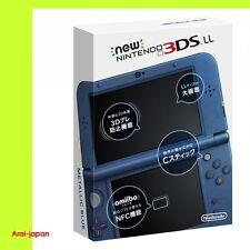 NEW Nintendo 3DS LL XL Metallic Blue Console System Japan 2014