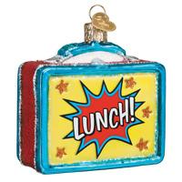 Old World Christmas LUNCHBOX (Lunch Box) (32365)X Glass Ornament w/ OWC Box