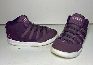 "Nike Jordan Purple ""Max Aura"" Basketball Mid Shoes   AQ9251-500   Kids Size 10C"