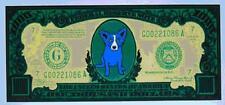 """Blue Dog George Rodrigue    """"Big Money""""        MAKE  OFFER  BA  DSS"""