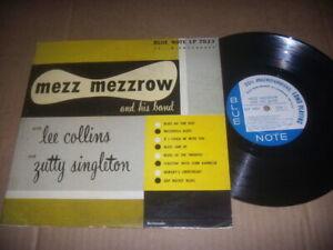 "Mezz Mezzrow & His Band  Lee Dixieland  1st Press Ear 10"" Deep Groove  Clean VG+"
