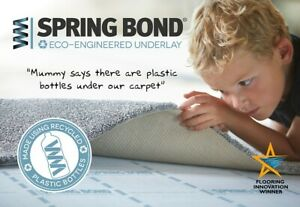Spring Bond 9mm Eco-Engineered Underlay by Texfelt - NEW ROLL