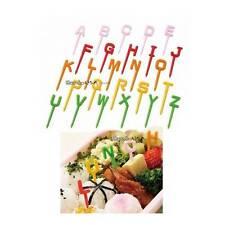 Torune Japanese Bento Accessory Food Pick Letter Set 26 pcs (15c/8c)